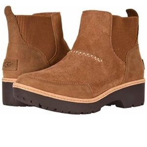 New with tags Ugg kress Brown ankle boot 7